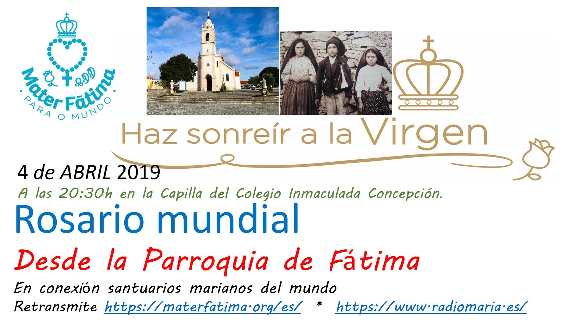 rosario por la paz 4 abril