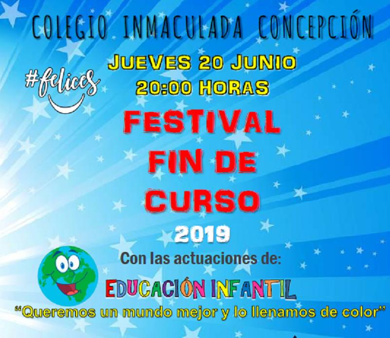 Cartel Festival Infantil 2019 recortado