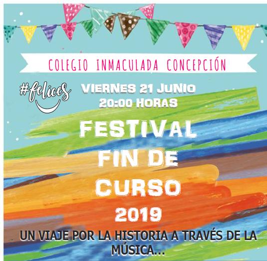 Cartel Festival Primaria y eso 2019 recortado