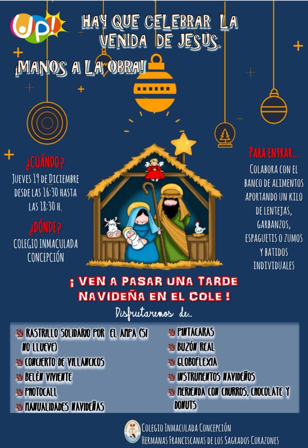 Tarde navideña 2019 cartel