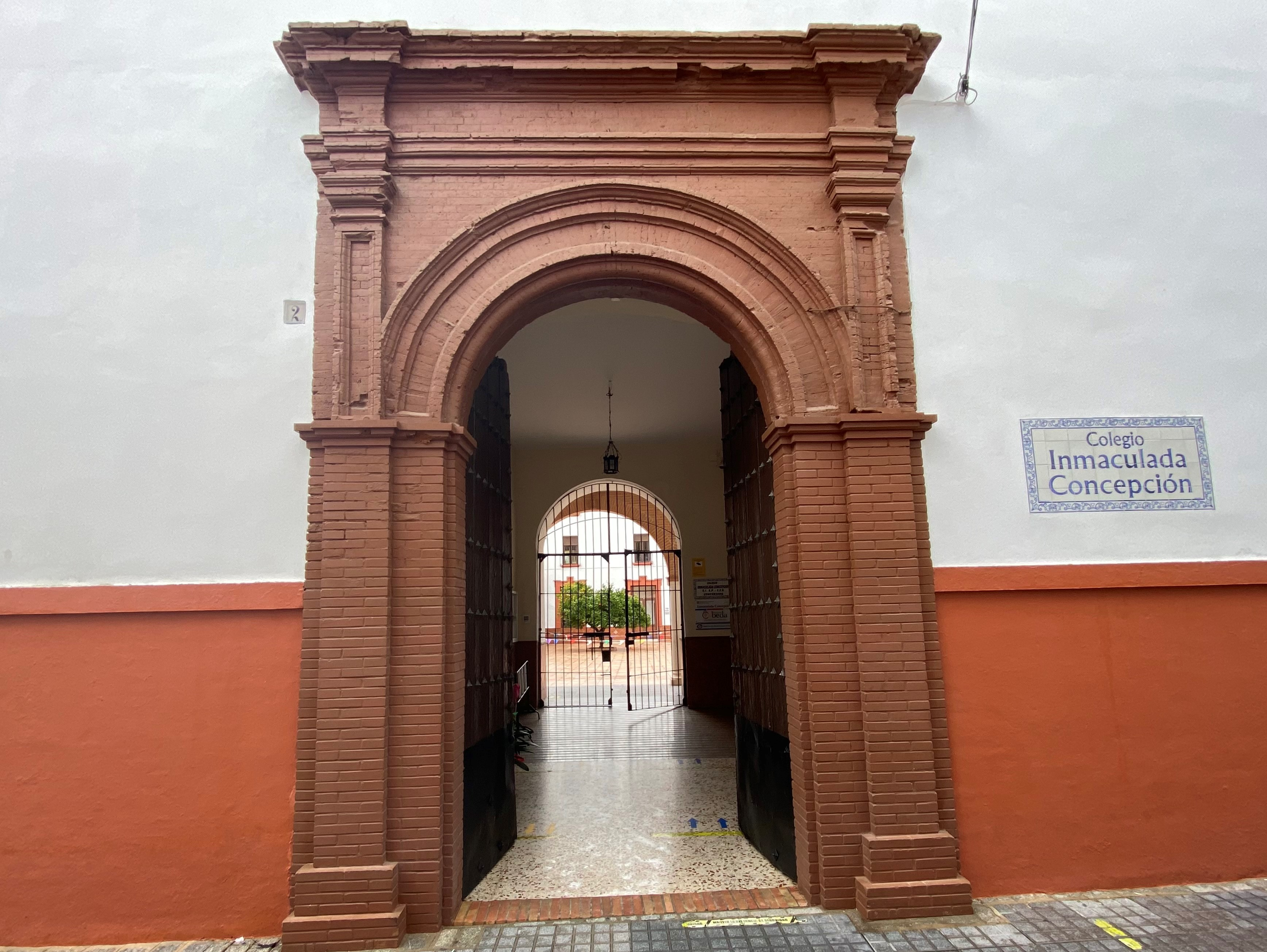 entrada colegio